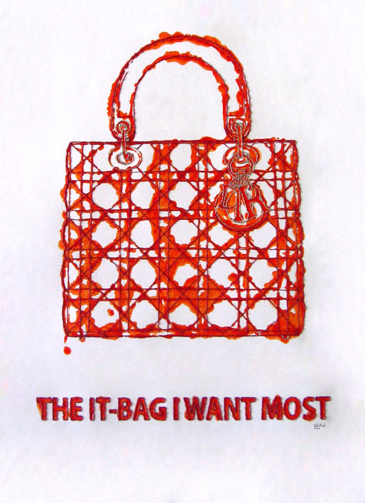 The it-bag I want most. Carmen Gila