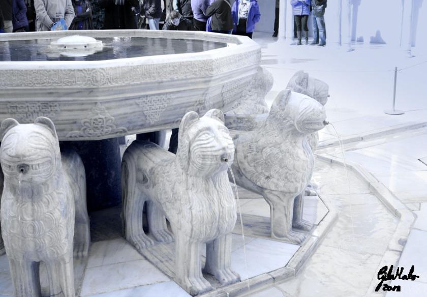 Alhambra Fuente de los leones copia