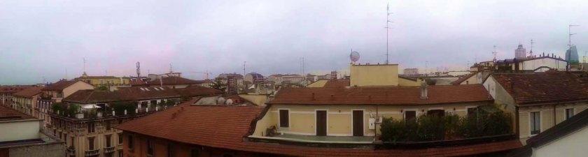 Panorámica de Milán