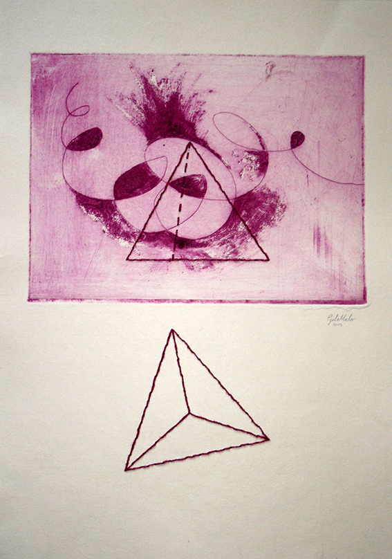 Tetraedro. Carmen Gila